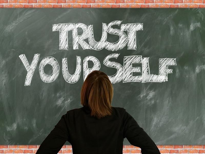 Confía en ti mismo